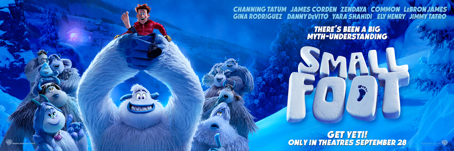 Canadians Get Yeti for Smallfoot - Banner