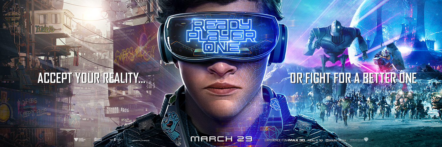 Ready Player One Events - Banner