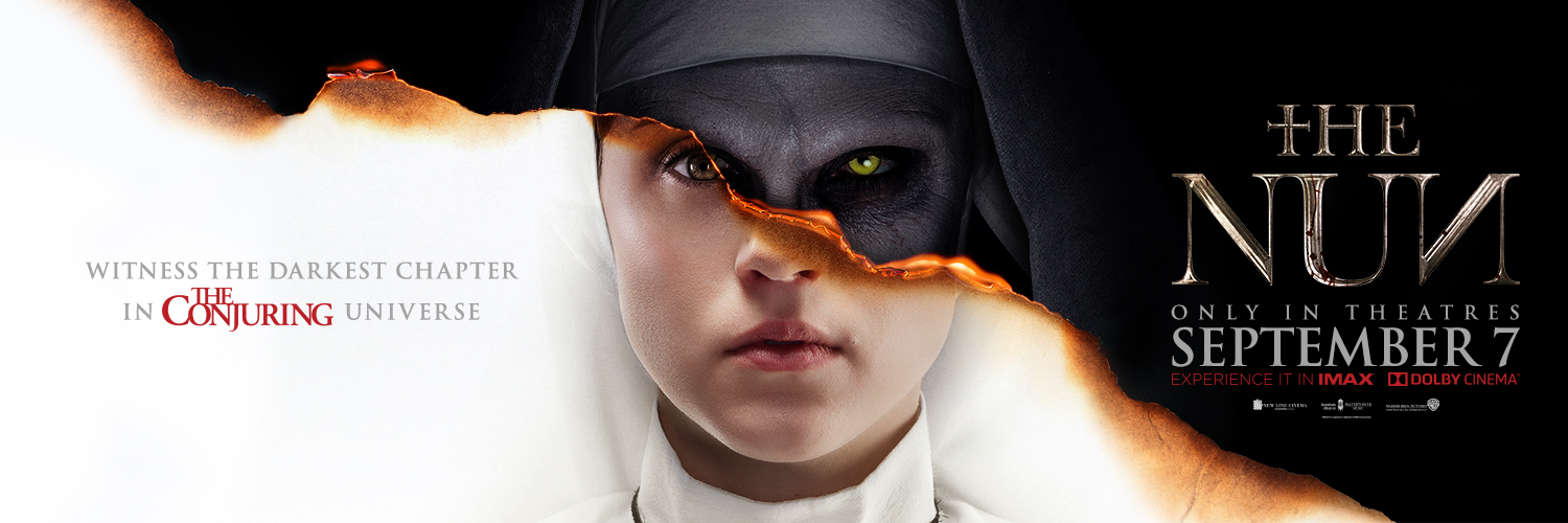 The Nun Haunts Canadians - Banner