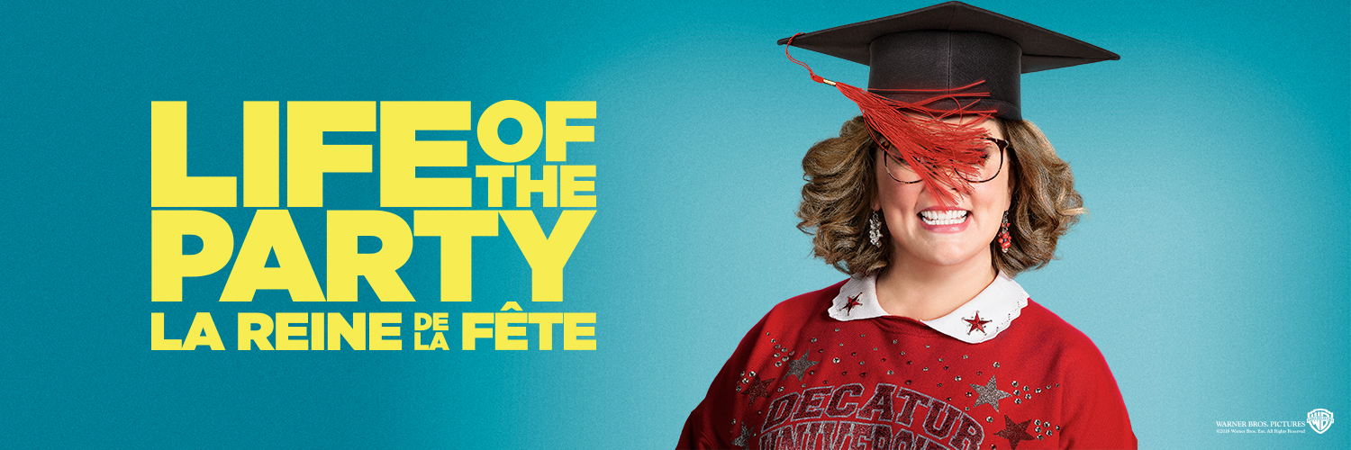 Life of the Party Lands on Blu-ray - Banner