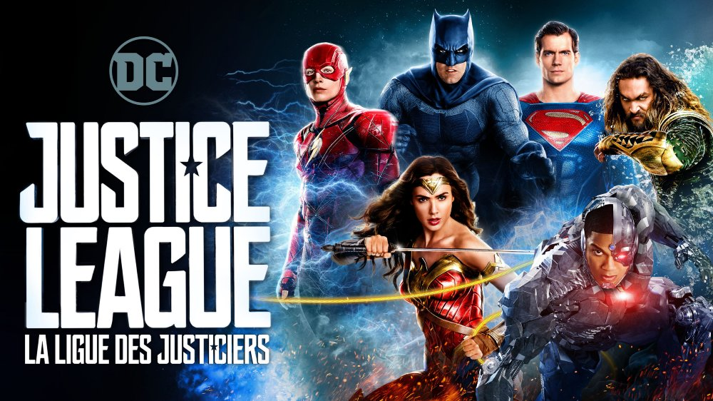 Justice League Retailer-Exclusive Blu-rays Now Available - Banner