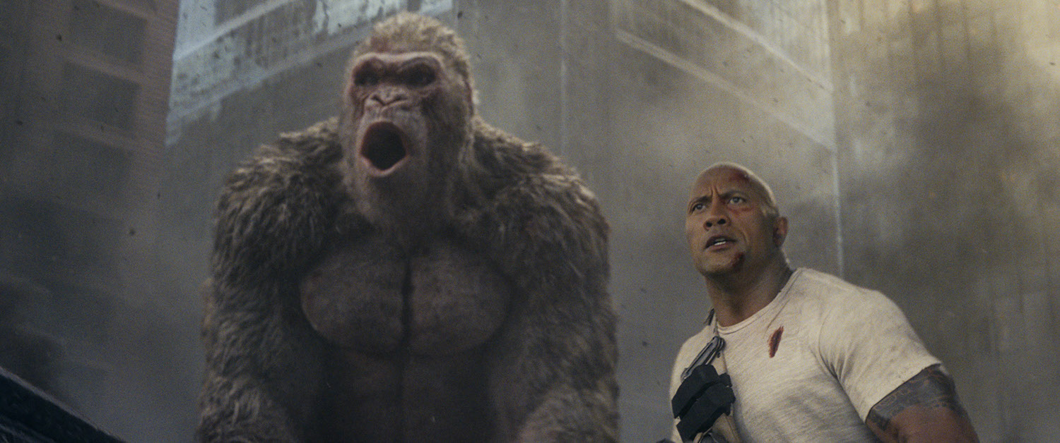 Rampage and Ready Player One - Banner