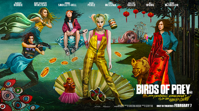 Warnerbroscanada Com Celebrate 2020 With Birds Of Prey Articles