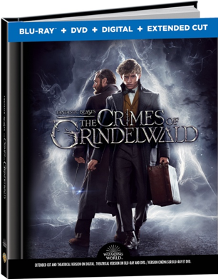 Fantastic Beasts 2: Blu-ray™ + DVD + Digital lenticular digibook