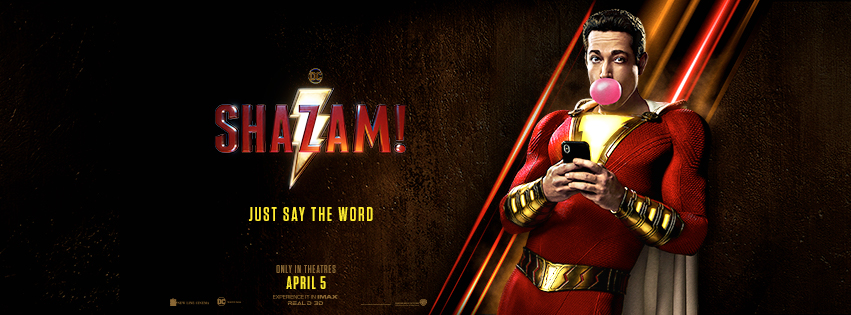 Shazam! Just Say The Word