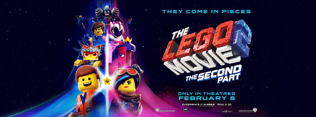 The LEGO Movie 2: Only In Theatre February 8